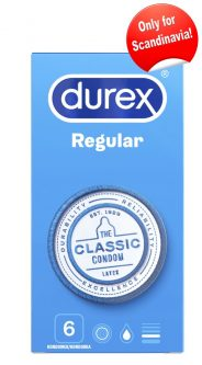 Durex Regular 6 Condoms