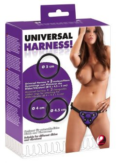 Universal Harness + 3 Rings