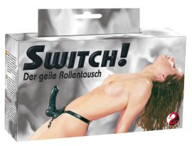 Strap-On Switch Latex 19 cm
