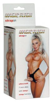 Strap-On Magic Flesh 18 cm