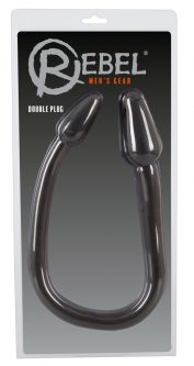 Nature Skin Double Plug Black