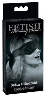 FFSLE Satin Blindfold Black