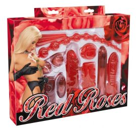 Set Red Roses