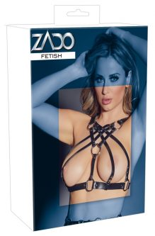 Leather Chest Harness S-L