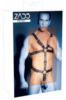 Leather Harness For Him S-L