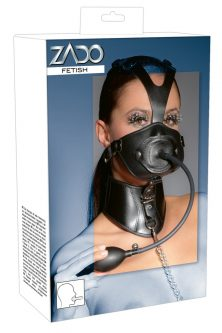 Leather Head Mask and Gag