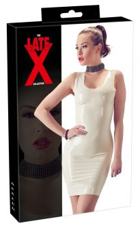 Latex Mini Dress XS